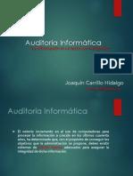 Auditoria Informatica-Sesión 1