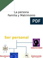 9. Persona Familia y Matrimonio