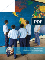 Peace Corps Performance and Accountability Report 2009