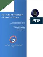 Manual de Proveedor Efactura Buzon