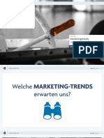 Marketingtrends im Tourismus