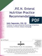 Total Parenteral Nutrition a S P