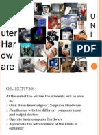 Unit II-Computer Hardware