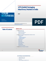 VFFS (Solid) Packaging Machinery Market in India_Feedback OTS_2015