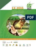 Agritex 2015 Brochure