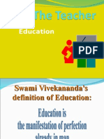 Neha Lalwani - Teacher`s Education