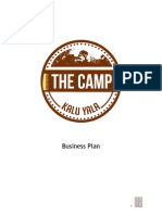 [BIZ]the Camp Business Plan by Fall 2014 Business Team