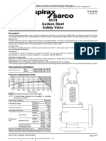 SV74 Carbon Steel Safety Valve-Technical Information