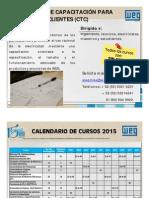WEG Calendario Cursos de Capacitacion Mexico 2015