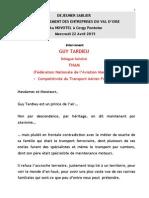 Discours Sablier 22 04 2015 Guy Tardieu