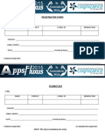 Registratin Form AppsFluxus-2015