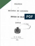 Colleccao de Leis do Império do Brazil - 1879 - Parte3