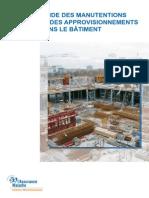 Dte 189 Guide Manutention Approvisionnement Batiment