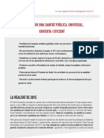 Programa PSIB PSOE - Sanidad y Servicios Sociales