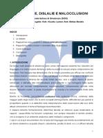 Deglutizione Dislalie e Malocclusioni