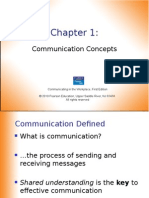 Chapter 1 Communication Concepts