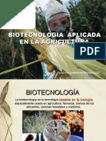 Biotecnologia Aplicada a La Agricultura
