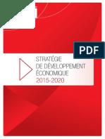 Stratégie de développement économique 2015-2020 du Grand Avignon