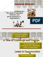 Chapter 1- Organizational Behavior Introduction