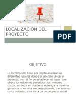 Localización Del Proyecto
