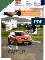 "RENAULT CAPTUR 1.5 dCi 90 EDC NA ""AUTO FOCO"""