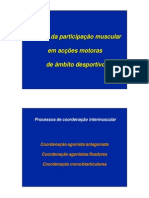 Analiza Participarii Musculare in Actul Motric