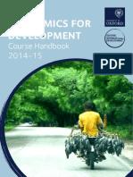 MCs ED 2014-15 Course Handbook