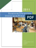 Ecuaciones Diferenciales Ordinarias de Primer Orden.