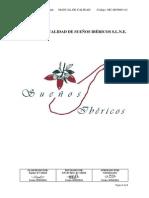 Manual de Calidad de Sueños Ibéricos