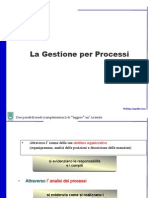 3 - Processi Project Management