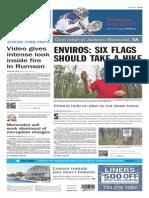 Asbury Park Press front page Thursday, April 23 2015