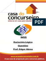Questoes INSS.recife RaciocinioLogico EdgarAbreu 2