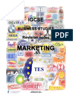 Marketing Revision Notes (1)