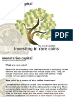 Investing in Rare Coins With MC