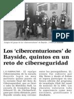 150423 La Verdad CG- Los 'Cibercenturiones' de Bayside, Quintos en Un Reto de Ciberseguridad p.9