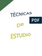 Tecnicas y Metodos de Estudio