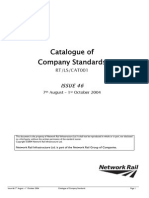 001 Catalogue of Company Standards