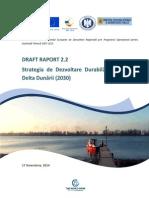 Draft Strategie Delta Dunarii