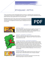 Earthquake Myths
