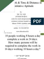 timeworktimedistanceinquantitativeaptitude-100102023101-phpapp01