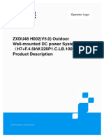 ZXDU48 H002£¨V5.0£©outdoor wall-mounted DC power supply system£¨H7+F.4.5kW.220P1.C.LB.10011£©product description.pdf