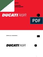 Ducati 749r Italian English German French