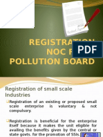PPT on REGISTRATION NOC FROM POLLUTION BOARD.pptx