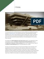 Brief History of TESDA