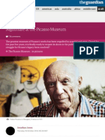 Nightmare at the Picasso Museum | Jonathan Jones | News | The Guardian
