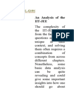 An Analysis of the IITjee