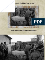 Une journée de Pèle-porc en 1977
