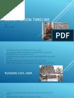 soviet union timeline