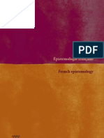 Epistémologie française-French epistemology