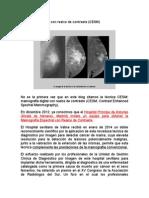 Mamografia Digital Con Realce de Contraste